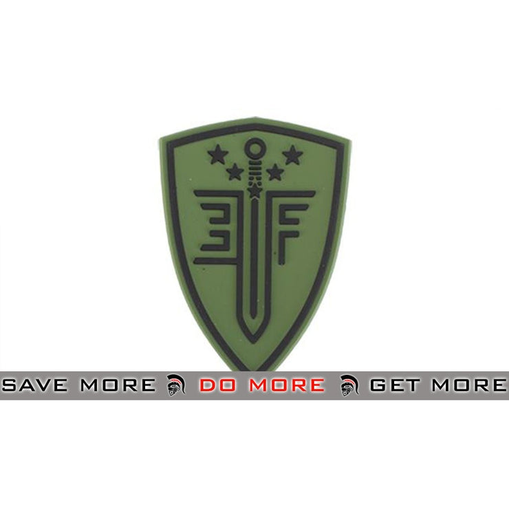 Elite Force PVC Shield Patch - Green Others- ModernAirsoft.com