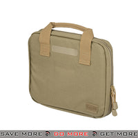 5.11 Tactical Single Pistol Carry Case Gun Bag - Sandstone Tan Gun Bags- ModernAirsoft.com