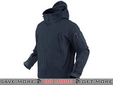 Condor Summit Soft Shell Jacket (Navy / Large) Jackets / Sweaters / Hoodies- ModernAirsoft.com