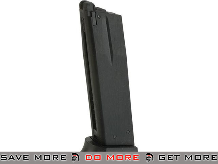 ASG Green Gas Magazine for ASG CZ-P01 Shadow GBB Airsoft Pistol Gas Gun Magazine- ModernAirsoft.com