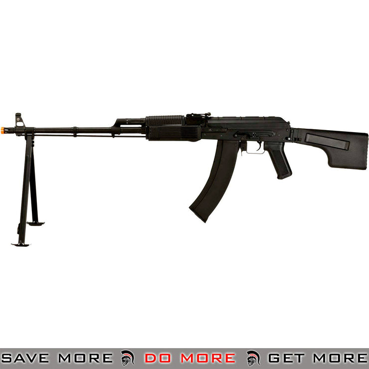 CYMA Full Metal RPK Airsoft AEG w Bipod and Folding Stock Synthetic Furniture