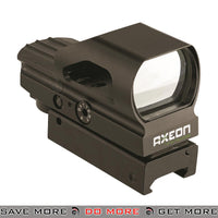 Umarex Axeon® 2-RS Multi Reticle Hooded Reflex Sight [ 2218638 ] - Red / Green