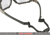 Green Frame / Clear Lens Axis Tactical Goggles by Valken Head - Goggles- ModernAirsoft.com
