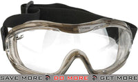 Alpha Tactical V-Tac Clear Goggles by Valken Head - Goggles- ModernAirsoft.com