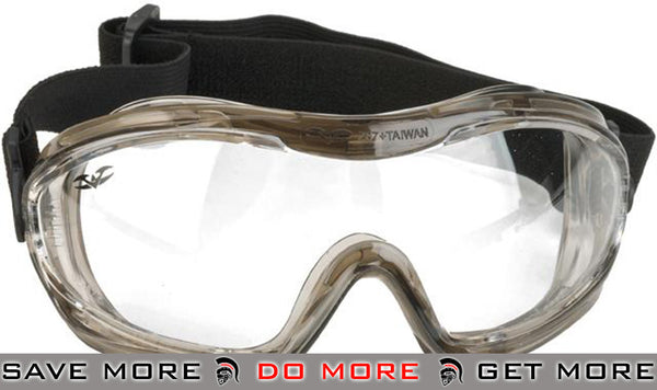 Alpha Tactical V-Tac Clear Goggles by Valken