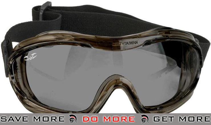 Alpha Tactical V-Tac Smoked Goggles by Valken Head - Goggles- ModernAirsoft.com