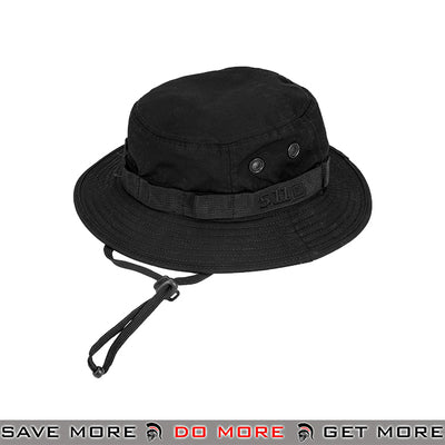 5.11 Tactical Outdoor TDU Boonie Hat - Black Head - Hats- ModernAirsoft.com