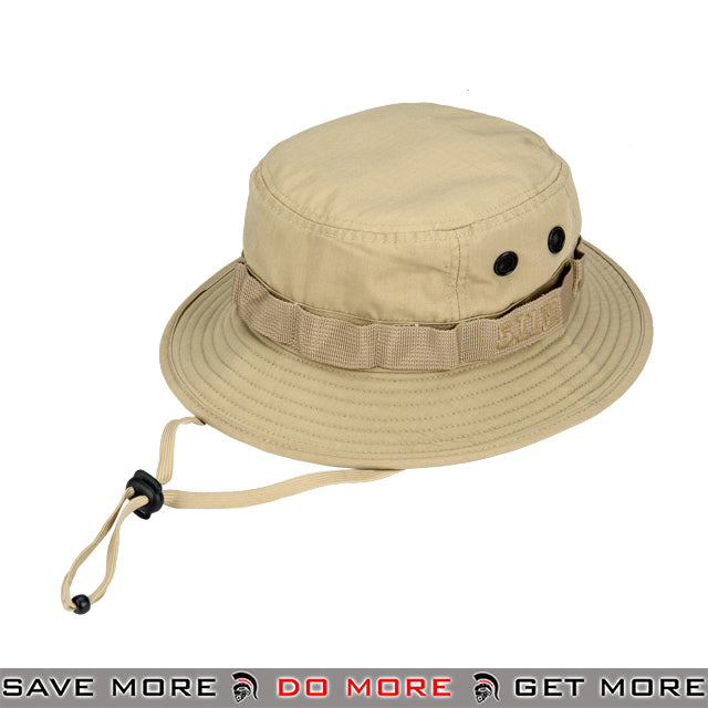 5.11 Tactical Outdoor TDU Boonie Hat - Khaki Head - Hats- ModernAirsoft.com