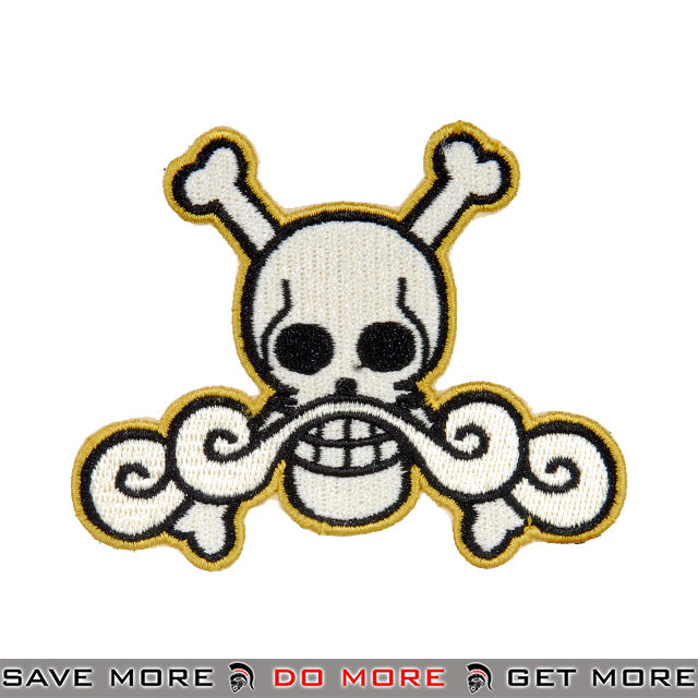 Lancer Tactical Velcro Morale Patch AC-140L - One Piece Roger Pirates Patch- ModernAirsoft.com