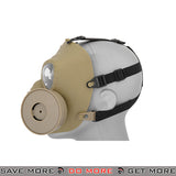 Dummy Anti-Fog Gas Mask - Tan Face Masks- ModernAirsoft.com