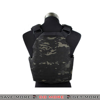 Lancer Tactical Strandhogg Style Plate Carrier w/ Dummy Plates CA-261MB - Multicam Black plate carrier- ModernAirsoft.com