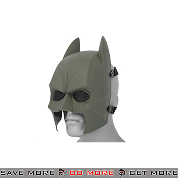 Batman Airsoft Mask - OD Green Face Masks- ModernAirsoft.com