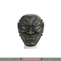 Airsoft Wisdom Full Face Mask - Ancient Bronze Face Masks- ModernAirsoft.com