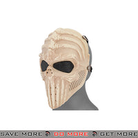 Vertabral Skeleton Airsoft Mask - Bleached Bone Face Masks- ModernAirsoft.com