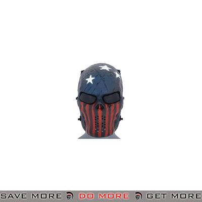 Emerson Villain Skull Mesh Face Mask - The Patriot Face Masks- ModernAirsoft.com