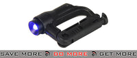 FMA D-Buckle Mini Light - Black/Blue flashlight- ModernAirsoft.com