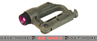 FMA D-Buckle Mini Light - Foliage Green/Purple flashlight- ModernAirsoft.com