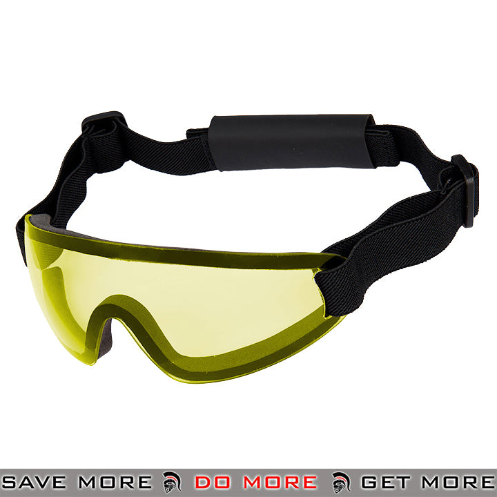 Lancer Tactical Low Profile Boogie Regulator Style Goggles AC-375Y - Yellow Lens Head - Goggles- ModernAirsoft.com