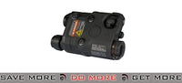 FMA AN/PEQ-15 White Light / Red laser / IR Lenses Aiming Module - Black Lasers- ModernAirsoft.com