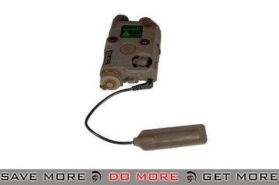 FMA AN/PEQ-15 White Light / Green laser / IR Lenses Aiming Module - Dark Earth Lasers- ModernAirsoft.com