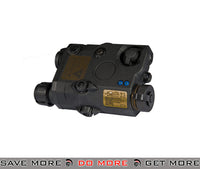 FMA PEQ-15 LED White Light + Green Laser With IR Lenser - Black Lasers- ModernAirsoft.com