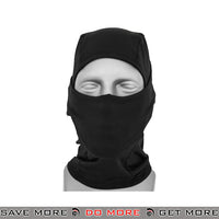 Lancer Tactical Winter Fleece Balaclava AC-384B - Black Head - Hats- ModernAirsoft.com