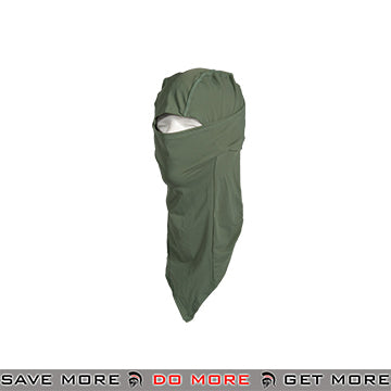Lancer Tactical Long Balaclava AC-386GL - OD Green Head - Hats- ModernAirsoft.com