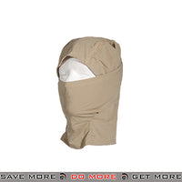 Lancer Tactical Short Balaclava AC-386KS - Khaki Head - Hats- ModernAirsoft.com