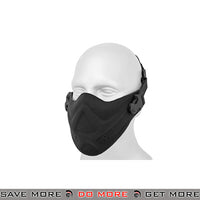 Lancer Tactical Neoprene Foam Lower Face Mask - Black Face Masks- ModernAirsoft.com