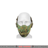 Lancer Tactical Neoprene Hard Foam Lower Face Mask - Jungle Digital Face Masks- ModernAirsoft.com
