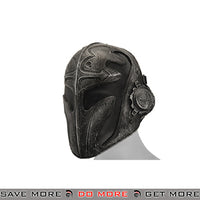"Emerson Steel Mesh ""Templar"" Mask - Black Face Masks- ModernAirsoft.com"