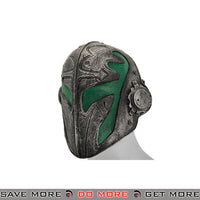"Emerson Steel Mesh ""Templar"" Mask - Green Face Masks- ModernAirsoft.com"