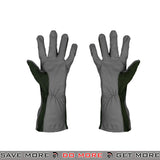 ACM Leather Nomex Flight Gloves AC-4457 - Sage Gloves- ModernAirsoft.com