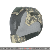 Lancer Tactical V6 Strike Metal Mesh  Full Face Mask AC-472A - ACU Face Masks- ModernAirsoft.com