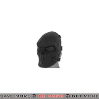 Emerson Villain Skull Mesh Face Mask - Black Face Masks- ModernAirsoft.com