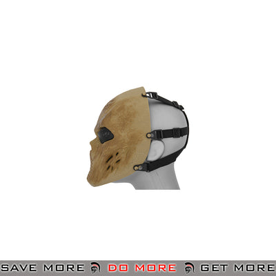 Emerson Villain Skull Mesh Face Mask - Dried Bone Face Masks- ModernAirsoft.com