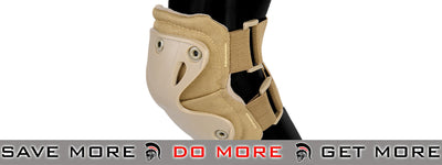 Lancer Tactical Quick Release Knee & Elbow Pad Set  - Tan Knee / Elbow Pads- ModernAirsoft.com