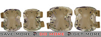 Lancer Tactical Quick Release Knee & Elbow Pad Set  - Arid Camo Knee / Elbow Pads- ModernAirsoft.com