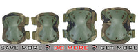 Lancer Tactical Quick Release Knee & Elbow Pad Set  - OD Green Knee / Elbow Pads- ModernAirsoft.com