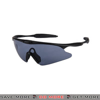 Wosport TPU Shooting Safety Glasses AC-570B - Smoke Lens Head - Goggles- ModernAirsoft.com