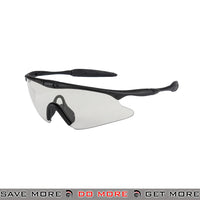 Wosport TPU Shooting Safety Glasses AC-570CL - Clear Lens Head - Goggles- ModernAirsoft.com
