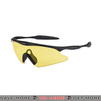 Wosport TPU Shooting Safety Glasses AC-570Y - Yellow Lens Head - Goggles- ModernAirsoft.com