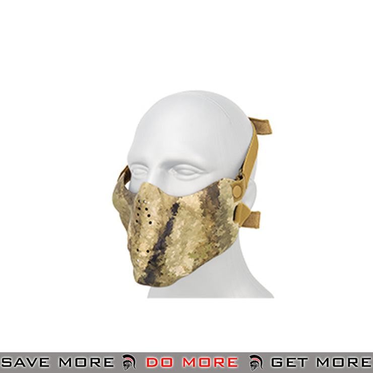 Emerson Tactical Skull Lower Face Mask w/ Foam Padding - ATACS AU Face Masks- ModernAirsoft.com