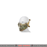 AMA Airsoft Tactical Half-Face Skull Mask - CAMO TROPIC Face Masks- ModernAirsoft.com