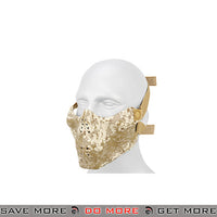 Emerson Half Face Skull Mask - Desert Digital Face Masks- ModernAirsoft.com
