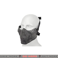 Emerson Half Face Skull Mask - Typhoon Face Masks- ModernAirsoft.com