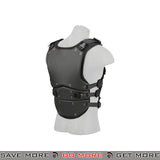 Lancer Tactical TF3 Airsoft High Speed Body Armor AC-590B - Black Armor Vest- ModernAirsoft.com