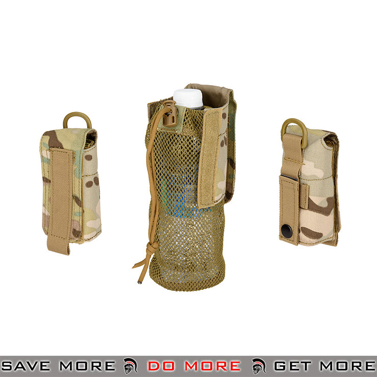 Lancer Tactical Folding Water Bottle Holder Bag AC-617C - Multicam Others / Pouch Accessories- ModernAirsoft.com