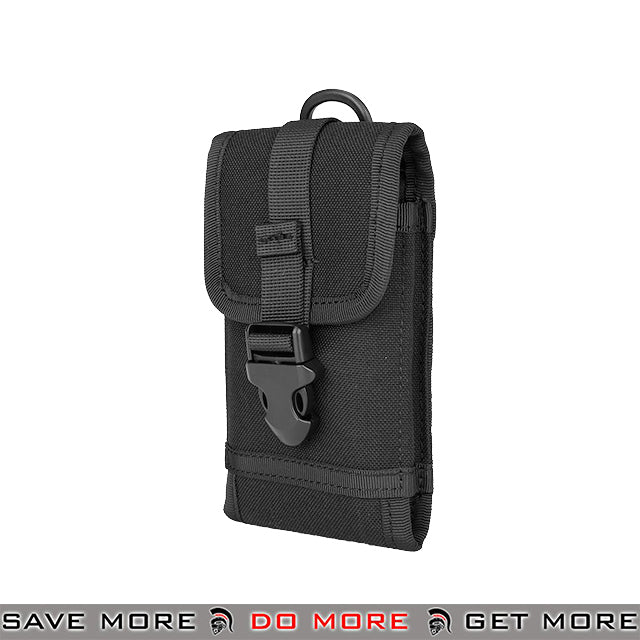 WoSporT Tactical MOLLE Mobile Phone Holster AC-619B - Black Others / Pouch Accessories- ModernAirsoft.com