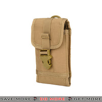 WoSporT Tactical MOLLE Mobile Phone Holster AC-619T - Tan Others / Pouch Accessories- ModernAirsoft.com